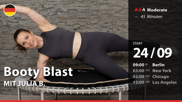 Booty Blast | 9/24/21 | Julia B.
