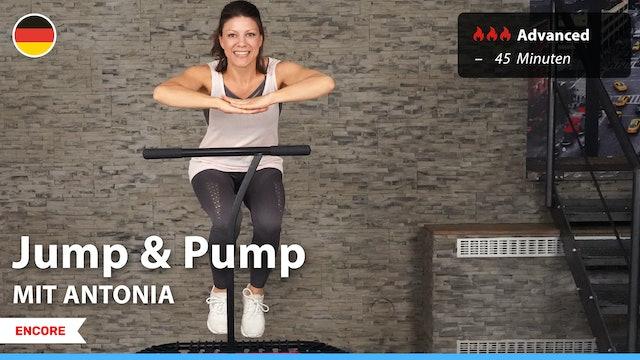[ENCORE] Jump & Pump | 9/3/21 | Antonia