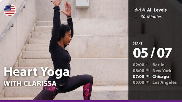 [PREMIERE] Heart Yoga | 5/7/21 | Clarissa
