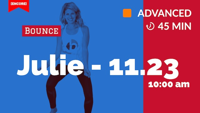 [ENCORE] Cardio Bounce JACK ATTACK is Back! | 11/23/20 | Julie