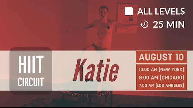 Hurry Up HIIT | 8/10/20 | Katie