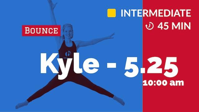 Cardio Push Bounce | 5/25/20 | Kyle