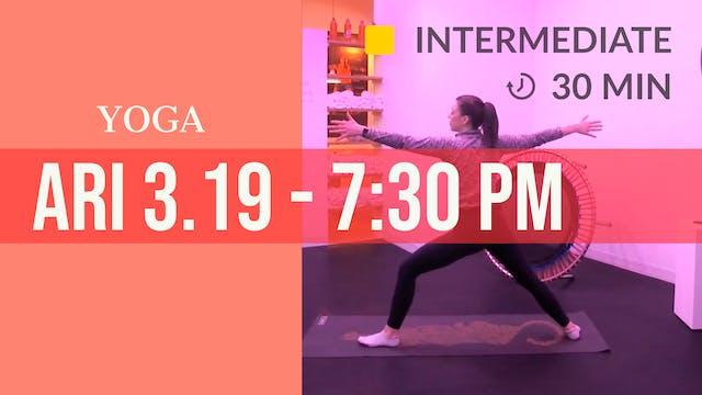 Recovery Yoga Flow | 3/19/20 | Ari
