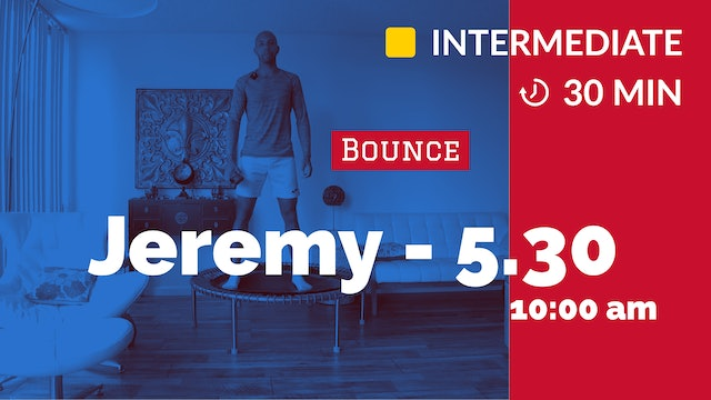 High Knee Bounce! | 5/30/20 | Jeremy