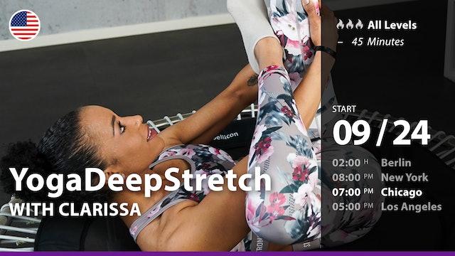 [PREMIERE] YogaDeepStretch   9/24/21   Clarissa