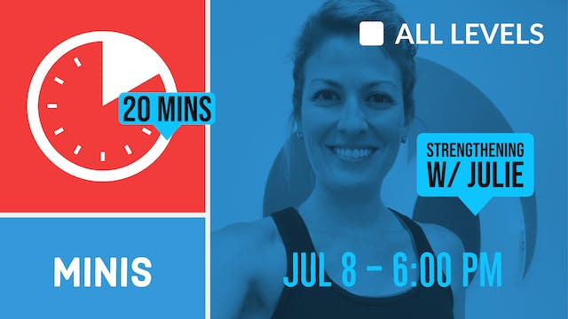 20 Minute Arms & Glutes Focus | 7/8/2...