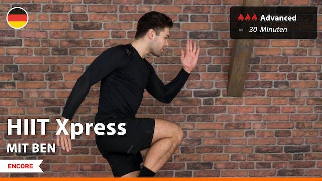 [ENCORE] HIIT Express | 9/4/21 | Ben