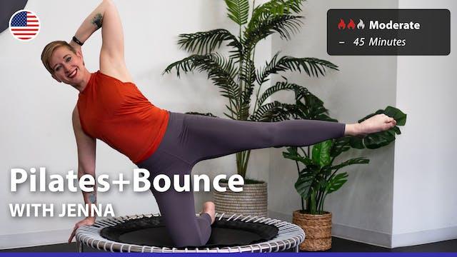 Pilates+Bounce | 6/21/21 | Jenna