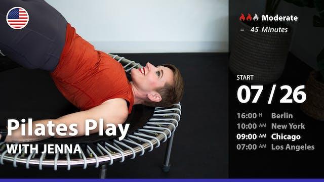 [PREMIERE] Pilates Play | 7/26/21 | J...