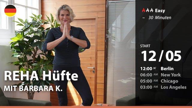 [PREMIERE] REHA Hüfte | 5/12/21 | Bar...