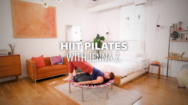 HIIT Pilates with Jenna Z.