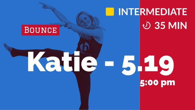 Cardio Bounce 35 | 5/19/20 | Katie