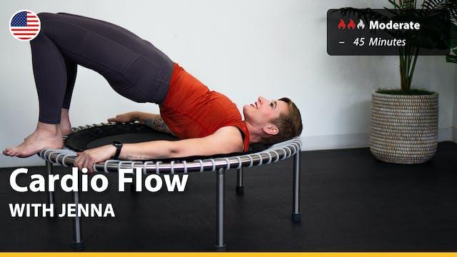 Cardio Flow   9/16/21   Jenna
