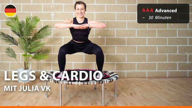 LEGS & CARDIO | 6/10/21 | Julia vK.