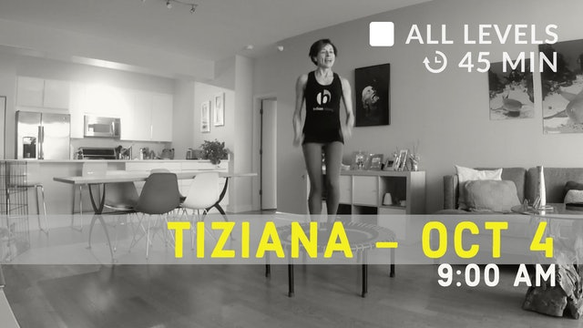 Time to Balance and Bounce | 10/4/20 | Tiziana