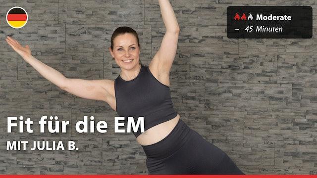 Fit für die EM | 6/18/21 | Julia B.