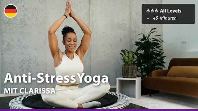 Anti-Stress Yoga | 8/1/21 | Clarissa