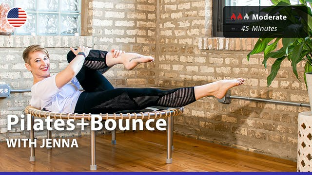 Pilates+Bounce | 3/29/21 | Jenna