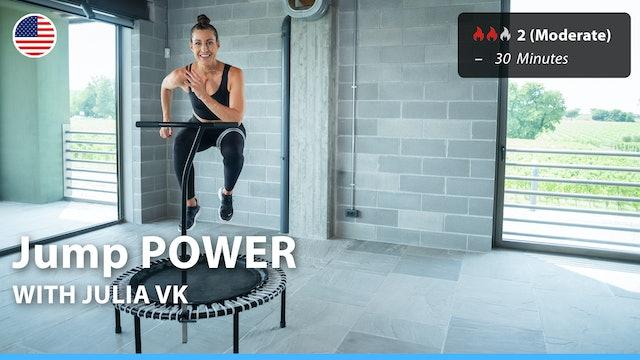 Jump POWER | 10/2/21 | Julia vK.