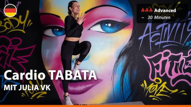 Cardio TABATA | 9/16/21 | Julia vK.