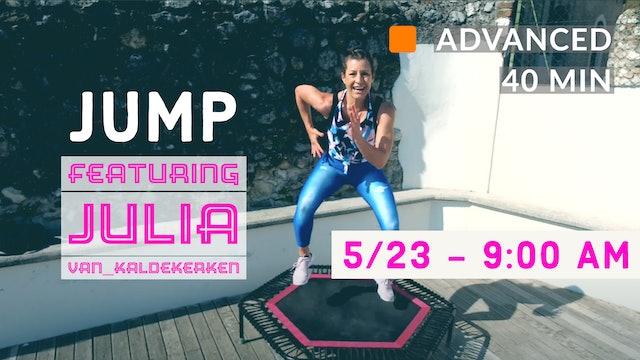 JUMPING CARDIO WEEK - Advanced Jump | 5/23/20 | Julia