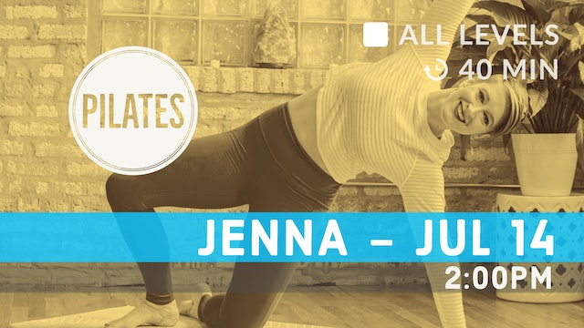 Pilates Flow | 7/14/20 | Jenna