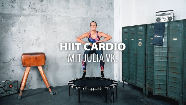 HIIT Cardio mit Julia vK.