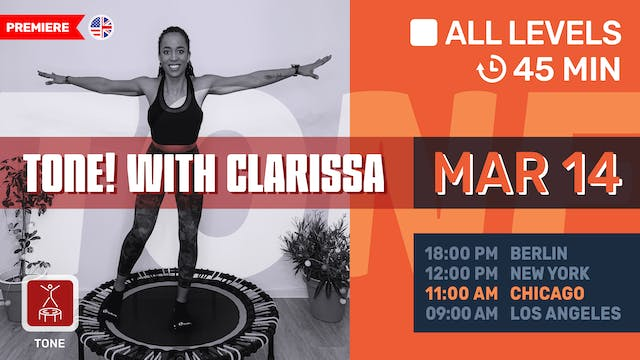 Full Body Workout | 3/14/21 | Clarissa