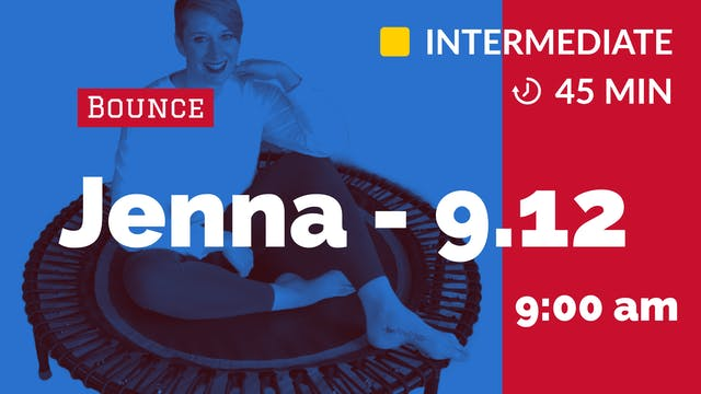Balancing Bounce | 9/12/20 | Jenna
