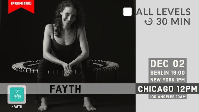 Restorative Bounce | 12/2/20 | Fayth