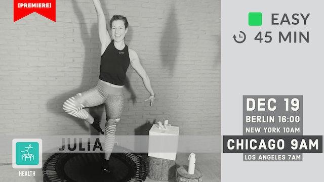 Mistletoe Workout   12/19/20   Julia