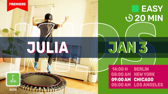 FIT TEENZ 10-13 y | 1/3/21 | Julia