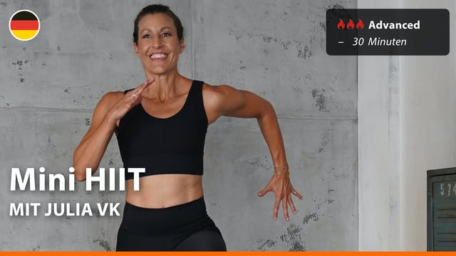 Mini HIIT | 4/1/21 | Julia vK.