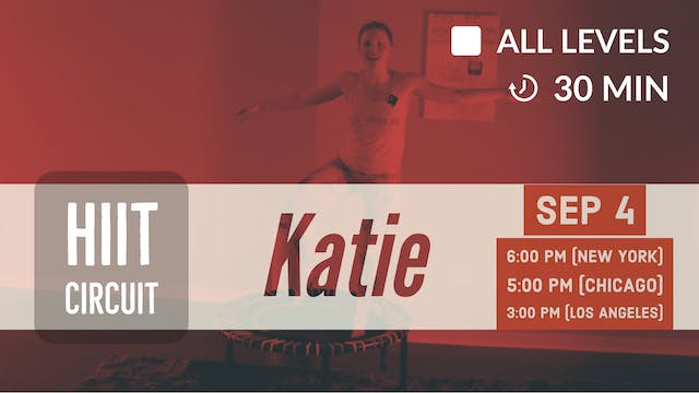 All-in-One HIIT | 9/4/20 | Katie