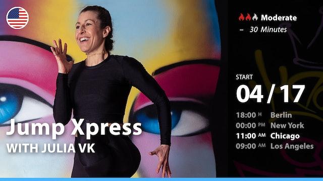 [PREMIERE] Jump Xpress | 4/17/21 | Julia vK.