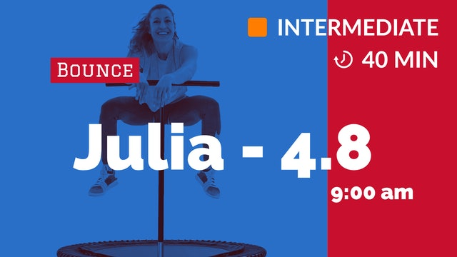 DANCE AEROBIC FUN | 4/8/20 | Julia