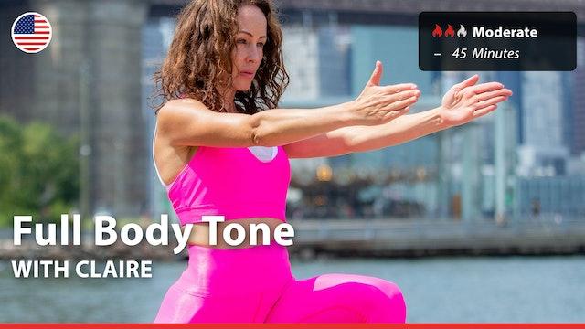 Full Body Tone | 3/30/21 | Claire