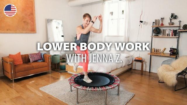 LOWER BODY WORK with Jenna Z. | bellicon Home