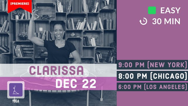 Snowflake Yoga | 12/22/20 | Clarissa