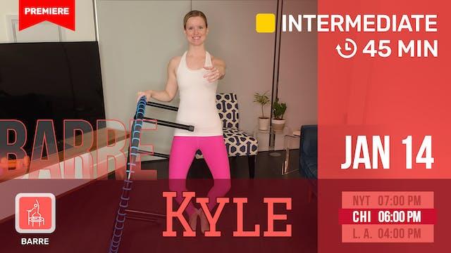 Thighs, Tris, & Cardio | 1/14/21 | Kyle