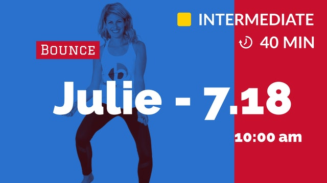 Saturday Smile Bounce | 7/18/20 | Julie