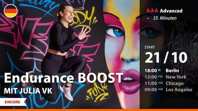 [ENCORE] Endurance BOOST | 10/21/21 | Julia vK.