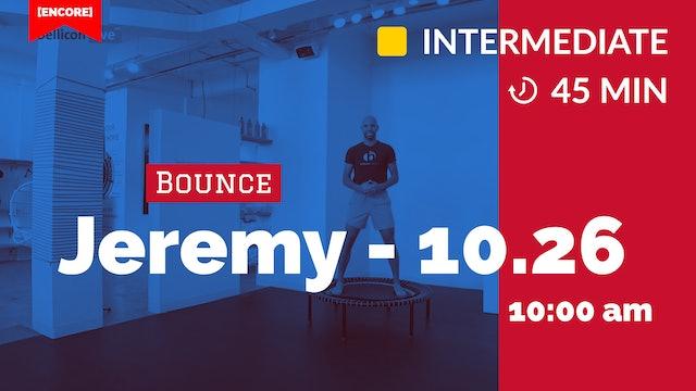 [ENCORE] Cardio Burn Bounce   10/26/20   Jeremy