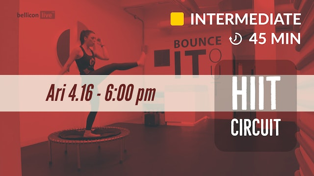 Total Body HIIT | 4/16/20 | Ari