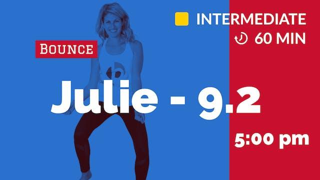 September SIZZLE! Bounce (60 min)   9...