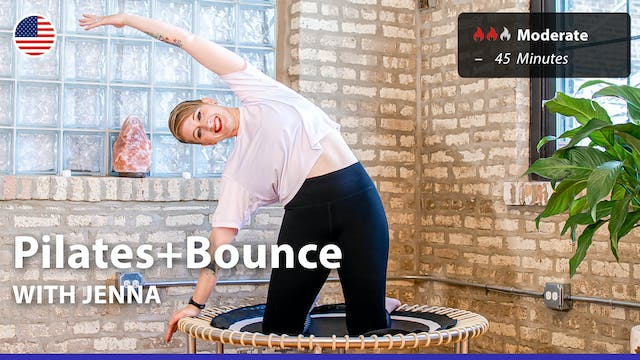 Pilates+Bounce | 4/12/21 | Jenna