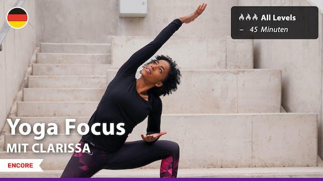 [ENCORE] Yoga Focus | 9/2/21 | Clarissa