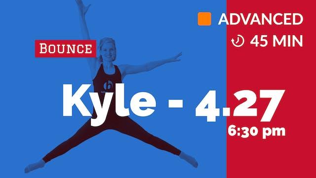 Bounce Cardio Max | 4/27/20 | Kyle