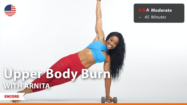 [ENCORE] Upper Body Burn | 8/30/21 | Arnita