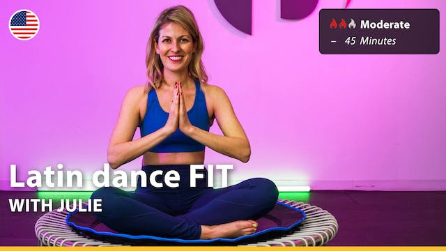 Latin dance FIT | 4/7/21 | Julie